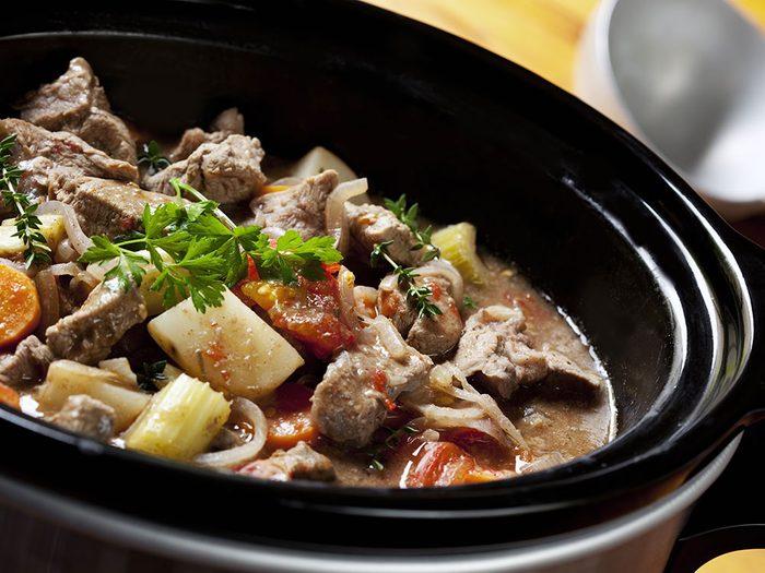 Choisir la bonne coupe de viande pour cuisiner à la mijoteuse.