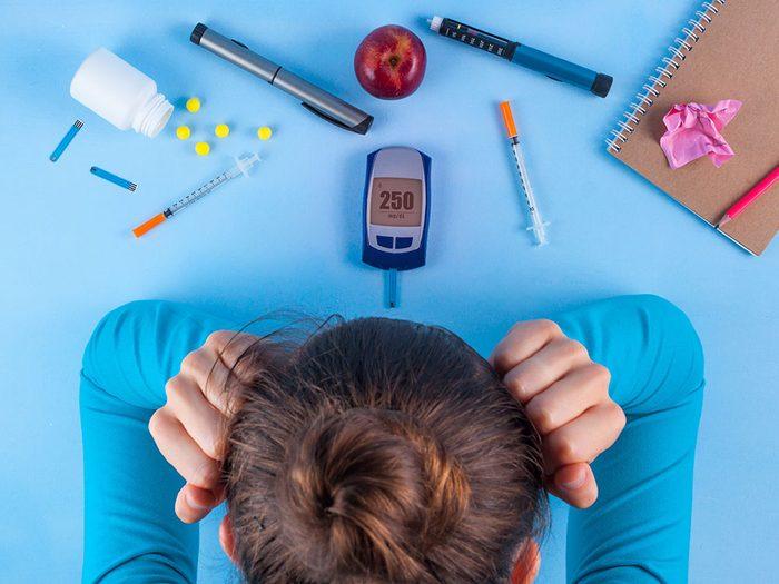 Le diabète est une maladie capricieuse.
