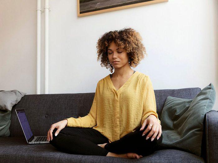 Faire face à l'anxiété avec des exercices de respiration.