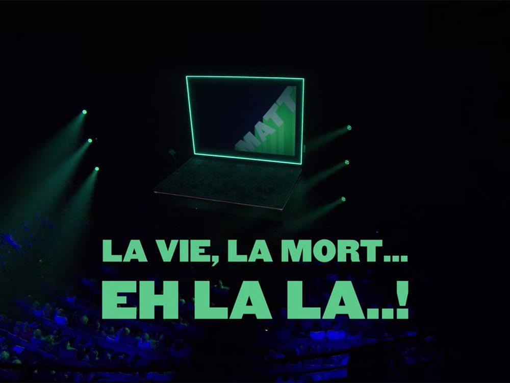 La vie, la mort... Eh la la...! fait partie des séries et films québécois sur Netflix.