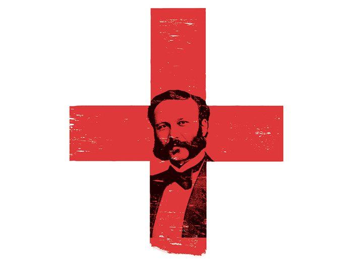 L'homme à l'origine de la Croix-Rouge.