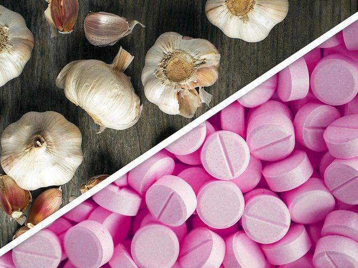 Ail et anticoagulants sont des médicaments à ne pas mélanger.