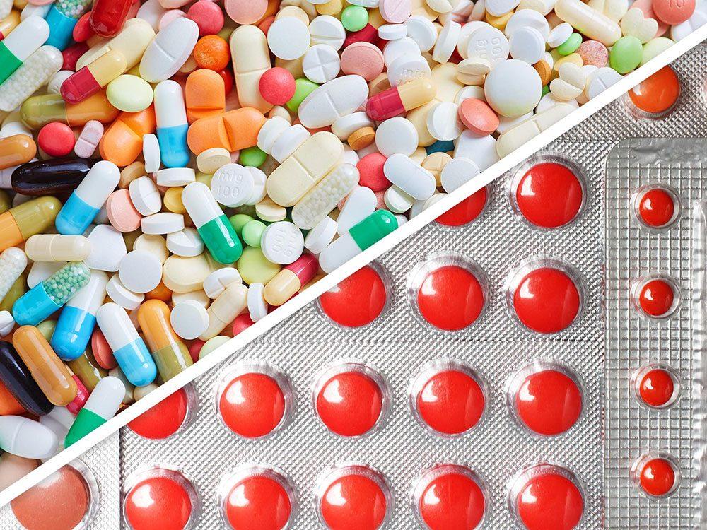 Antibiotiques et fer sont des médicaments à ne pas mélanger.