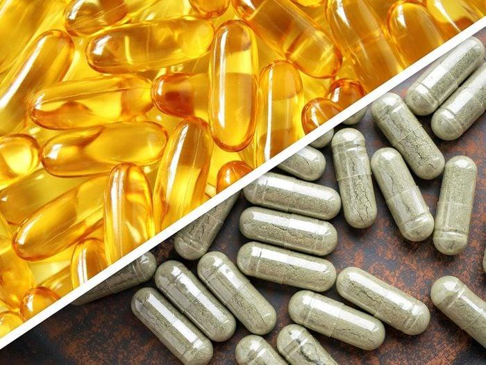 L'huile de poisson et le ginkgo biloba sont des médicaments à ne pas mélanger.