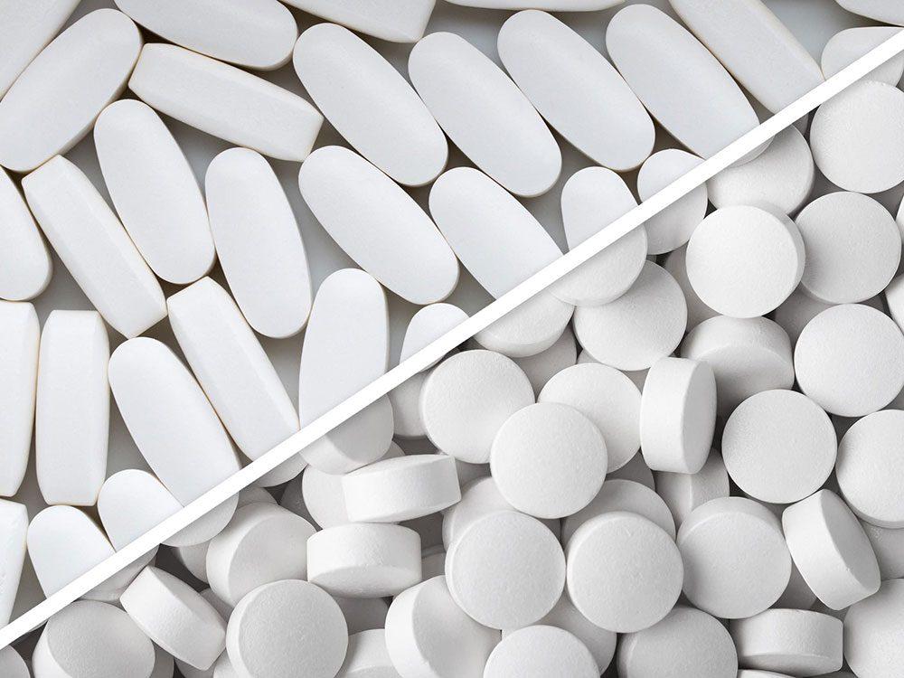 Magnésium et calcium sont des médicaments à ne pas mélanger.