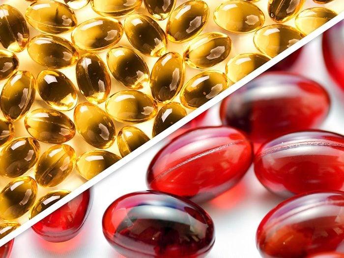 Les vitamines A, D, E et K sont des médicaments à ne pas mélanger.