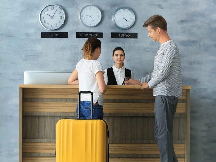 N'hésitez pas à négocier un prix pour vos chambres d'hôtel.