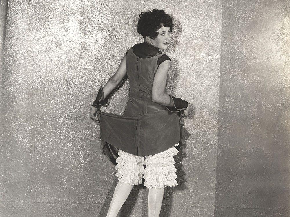 Sous-vêtements: l'avènement des pantalettes.
