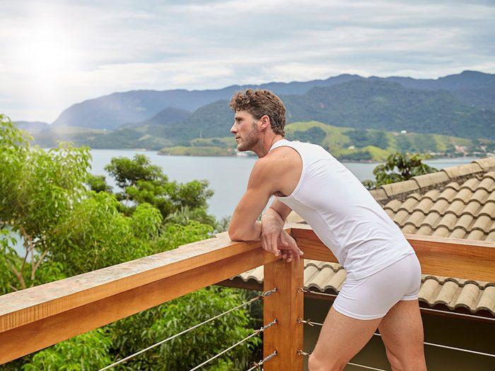 Des raisons santé de porter des sous-vêtements.