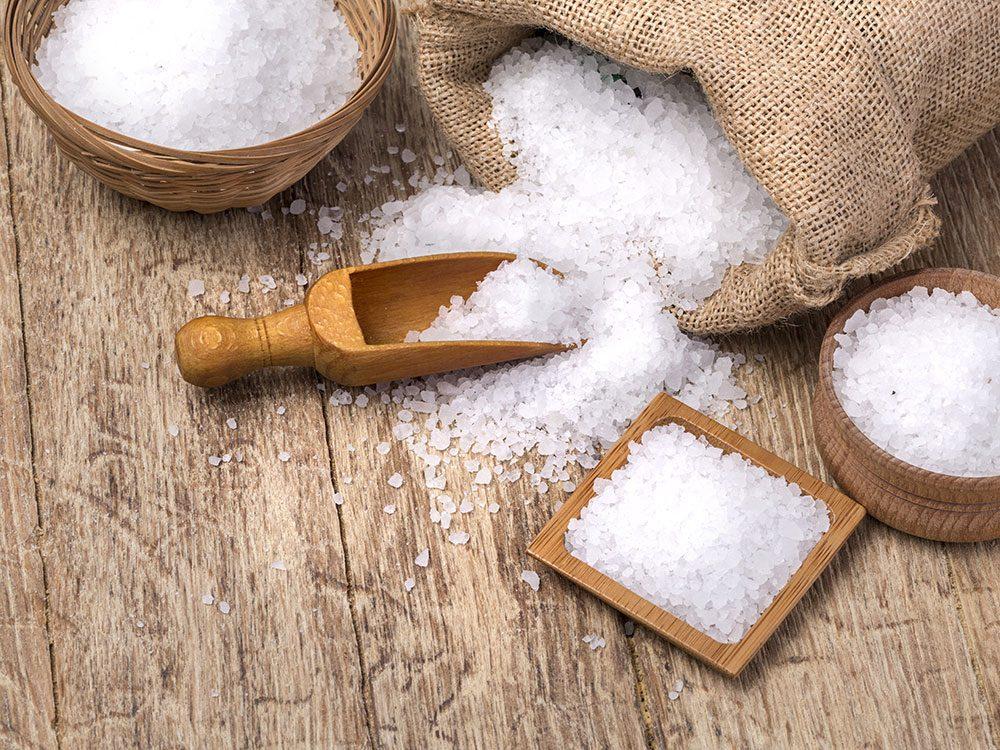 Quel est le meilleur sel pour la santé: le sel de mer.