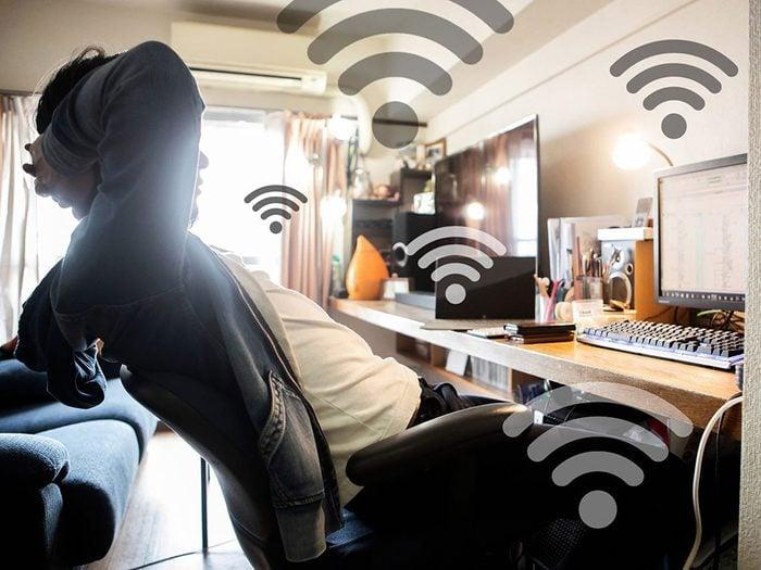 Une connexion Internet au ralenti peut signifier que quelqu'un utilise votre réseau wifi.