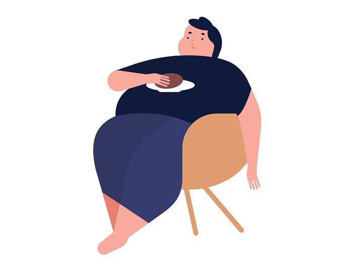 Comment sauver une vie quant la victime est consciente, mais obèse.
