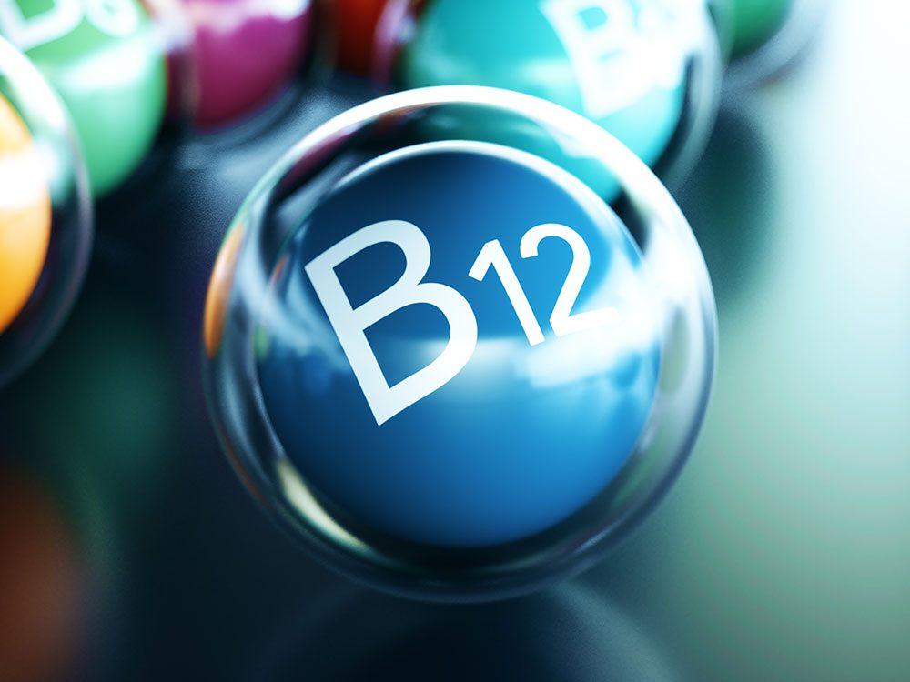 La vitamine B12 est une vitamine vitale.