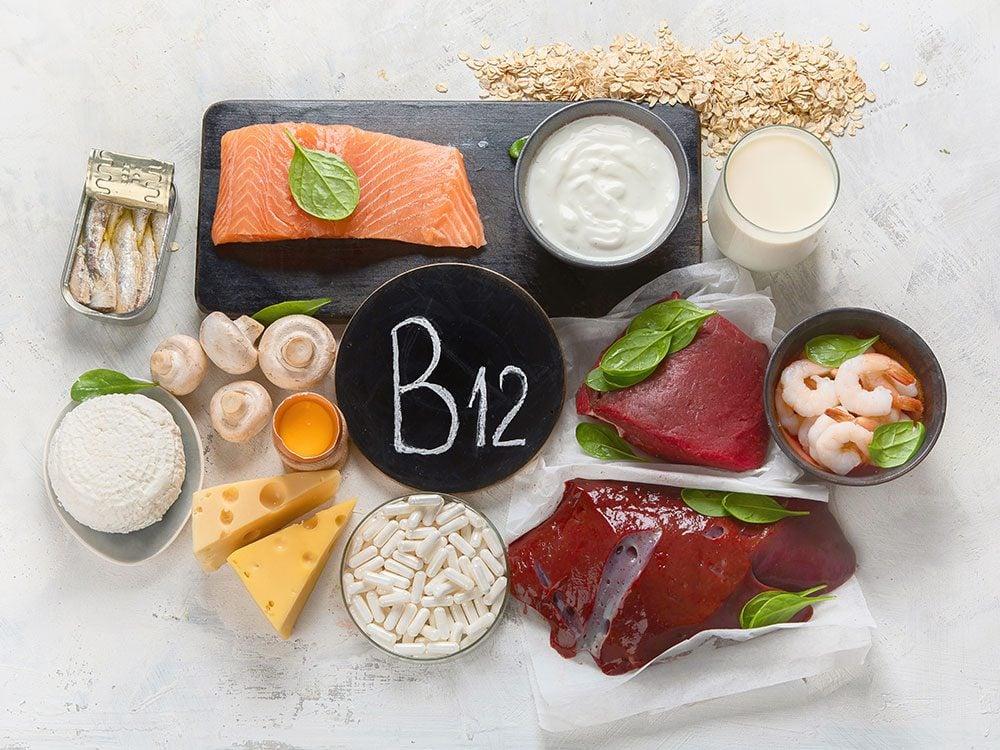 Ces aliments sont naturellement riches en vitamine B12.