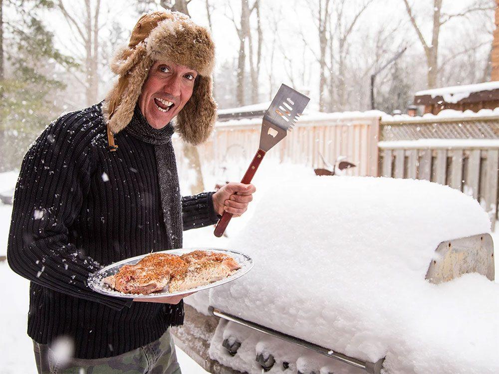Éviter la catastrophe lors de votre barbecue d'hiver.
