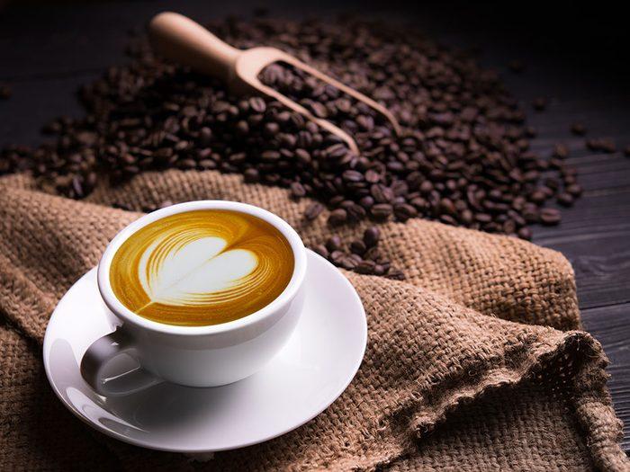 Café, inflammation et cœur.