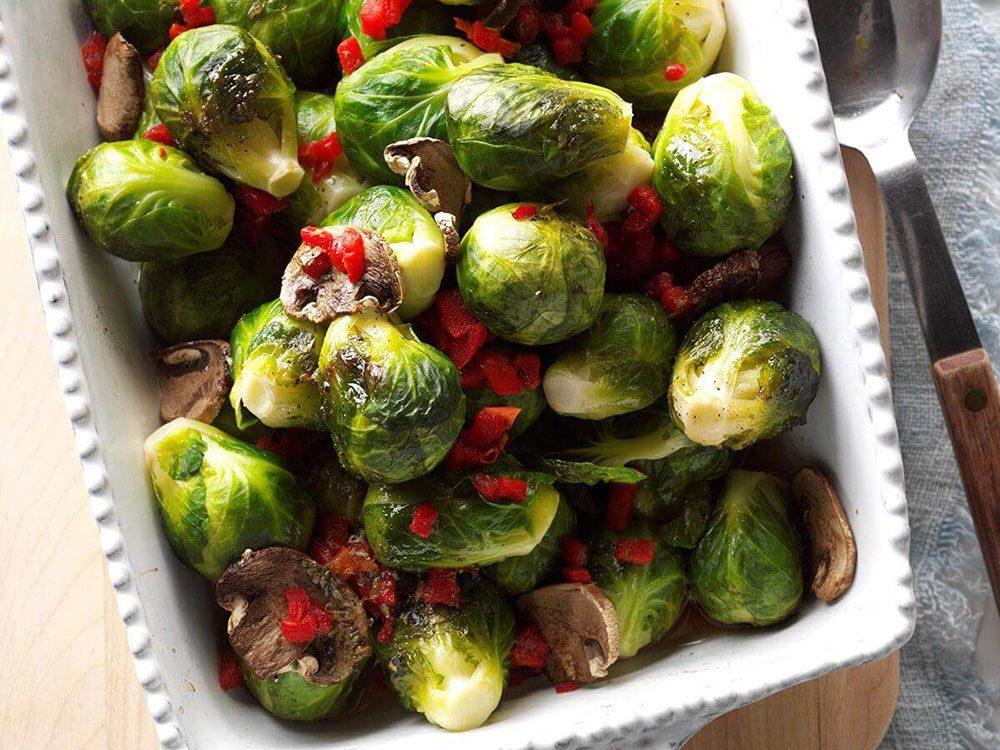 Si vous prévoyez une grossesse, ajoutez des recettes aux choux de Bruxelles dans votre alimentation.