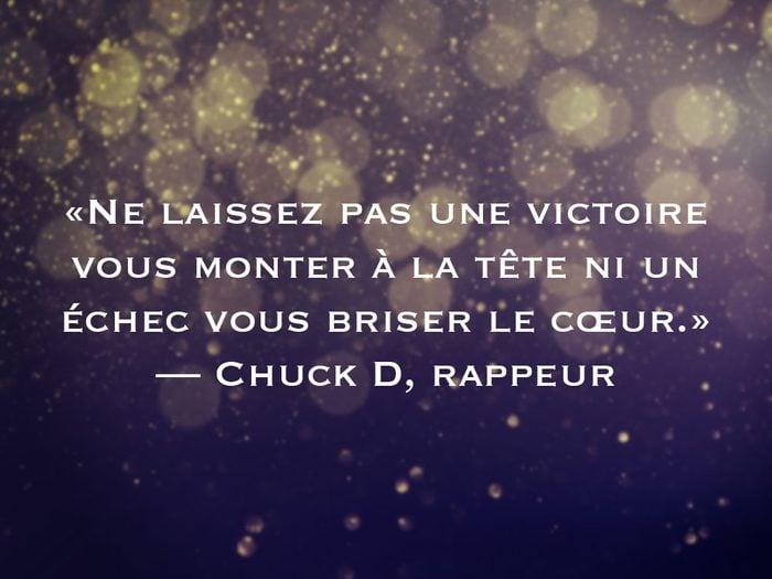 L'une des phrases de Chuck D fait partie des 50 citations inspirantes pour le Nouvel An 2021.