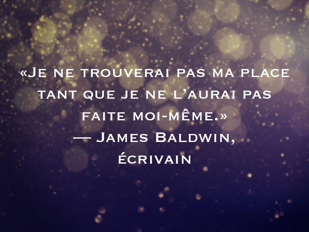 L'une des phrases de James Baldwin fait partie des 50 citations inspirantes pour le Nouvel An 2021.