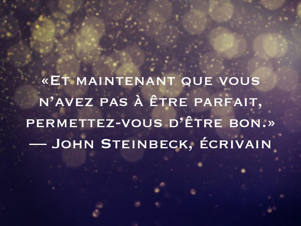 L'une des phrases de John Steinbeck fait partie des 50 citations inspirantes pour le Nouvel An 2021.