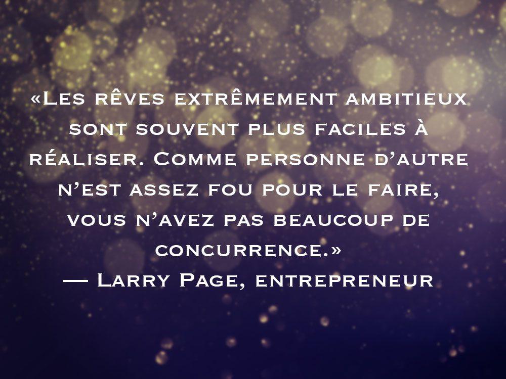 L'une des phrases de Larry Page fait partie des 50 citations inspirantes pour le Nouvel An 2021.