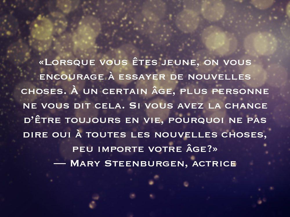 L'une des phrases de Mary Steenburgen fait partie des 50 citations inspirantes pour le Nouvel An 2021.