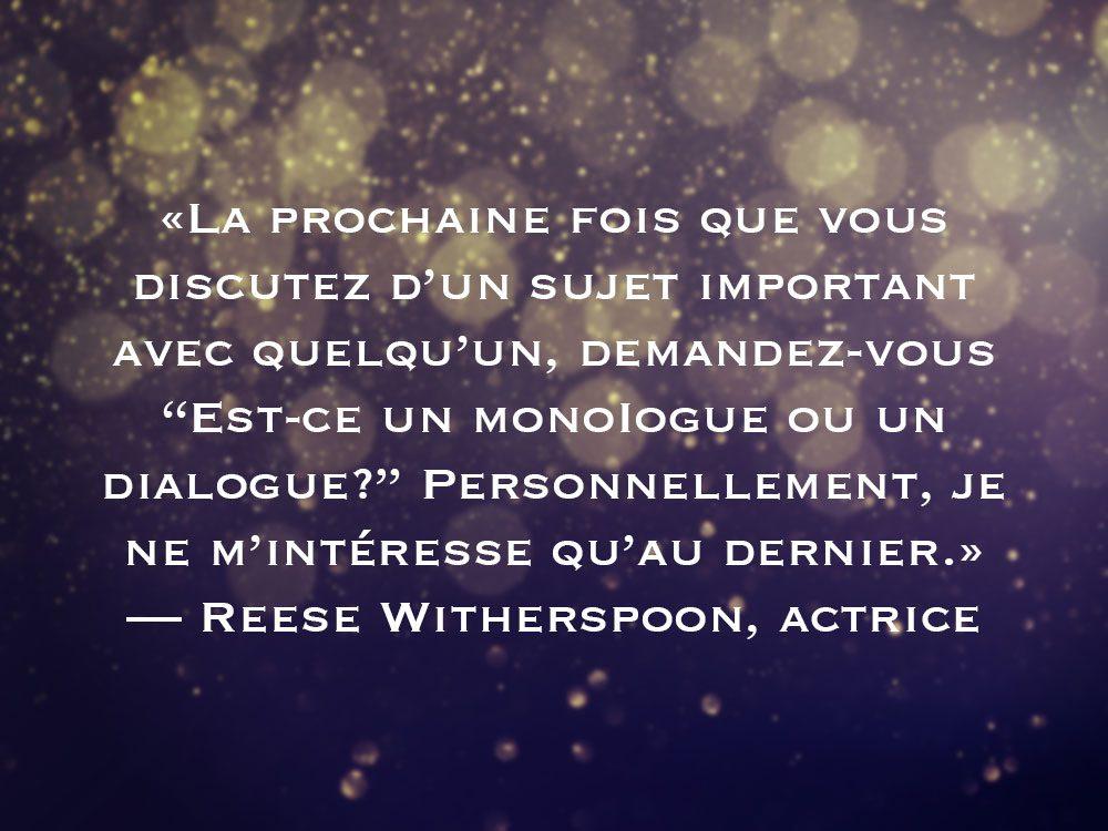 L'une des phrases de Reese Witherspoon fait partie des 50 citations inspirantes pour le Nouvel An 2021.
