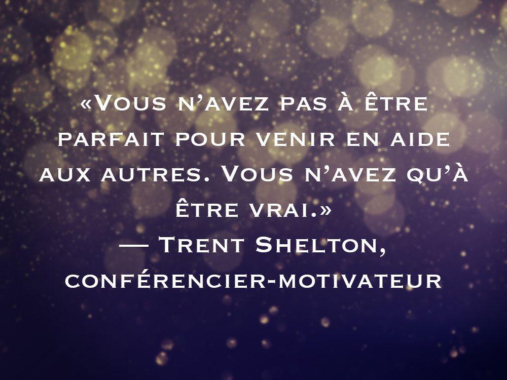 L'une des phrases de Trent Shelton fait partie des 50 citations inspirantes pour le Nouvel An 2021.