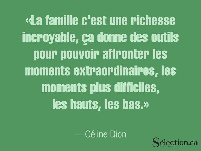 Lisez ces citations sur le bonheur, dont celle de Céline Dion.