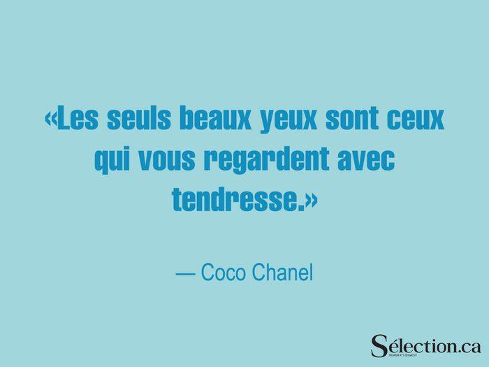Lisez ces citations sur le bonheur, dont celle de Coco Chanel.