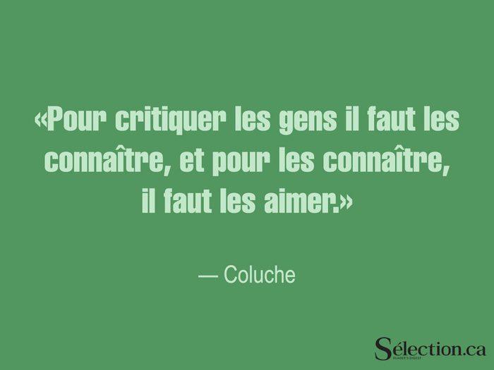 Lisez ces citations sur le bonheur, dont celle de Coluche.