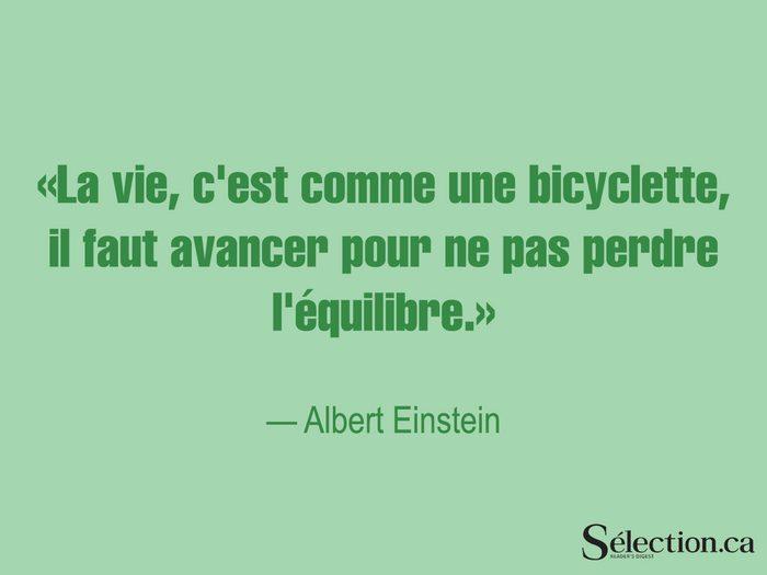 Lisez ces citations sur le bonheur, dont celle d'Albert Einstein.