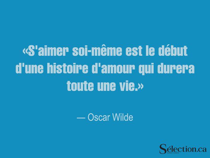 Lisez ces citations sur le bonheur, dont celle d'Oscar Wilde.