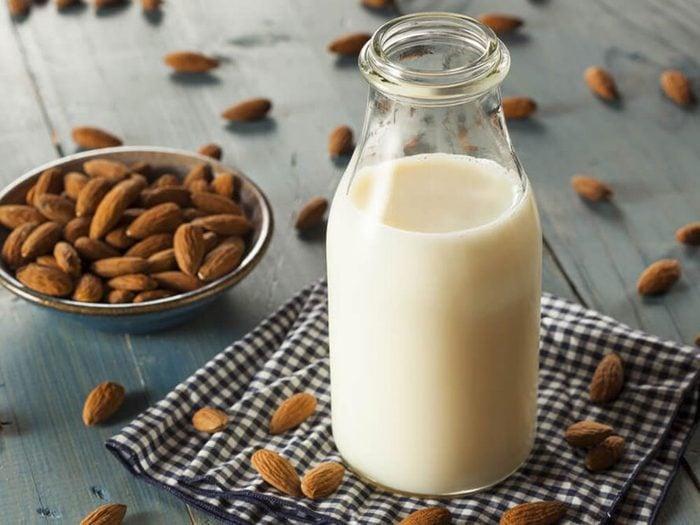 Comment faire du lait d'amande?