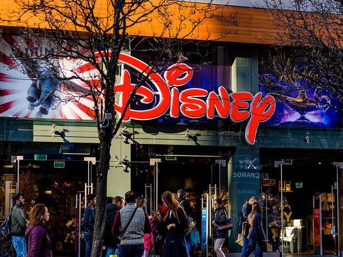 Mots cachés à imprimer: Personnages de Disney (8 lettres).
