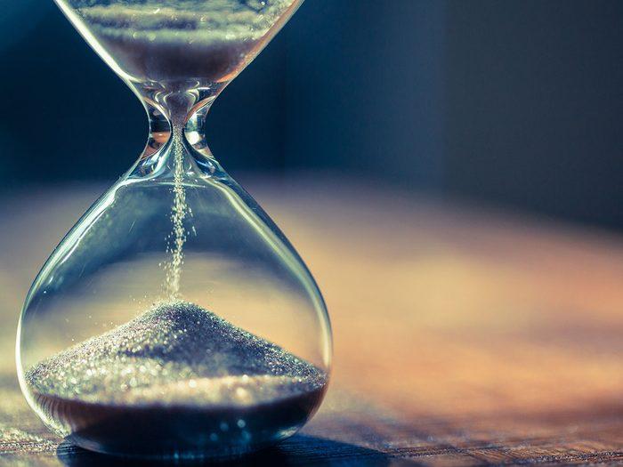 Mots cachés à imprimer: Le temps (10 lettres).