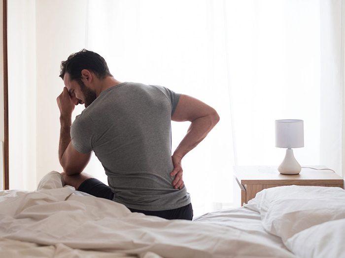 Vous n'êtes pas en forme si vous avez mal pendant des jours après une séance d'entraînement.