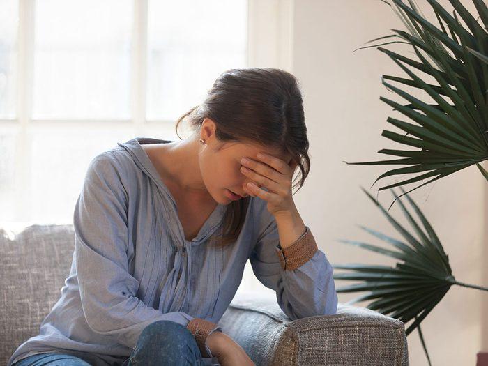 Vous n'êtes pas en forme si vous vous sentez souvent très fatigué.