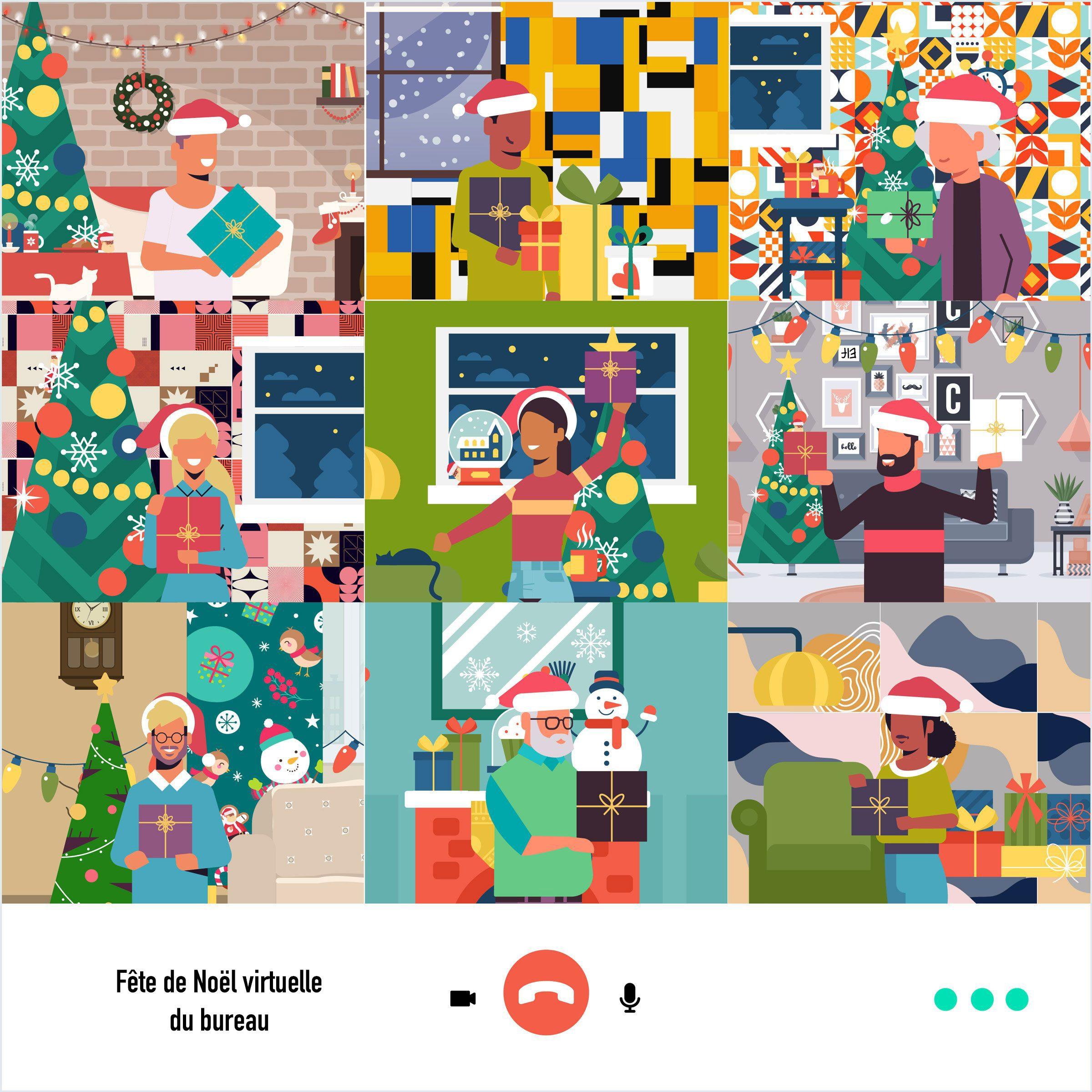 Saurez-vous trouver les 7 pères Noël cachés?