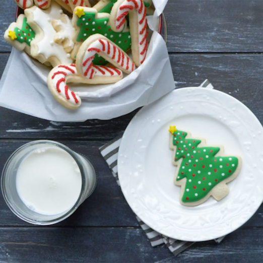 Biscuits de Noël à décorer