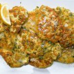 Piccata de poulet avec sauce au citron