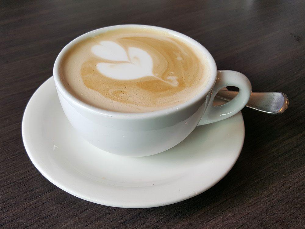 Types de café: le flat white.