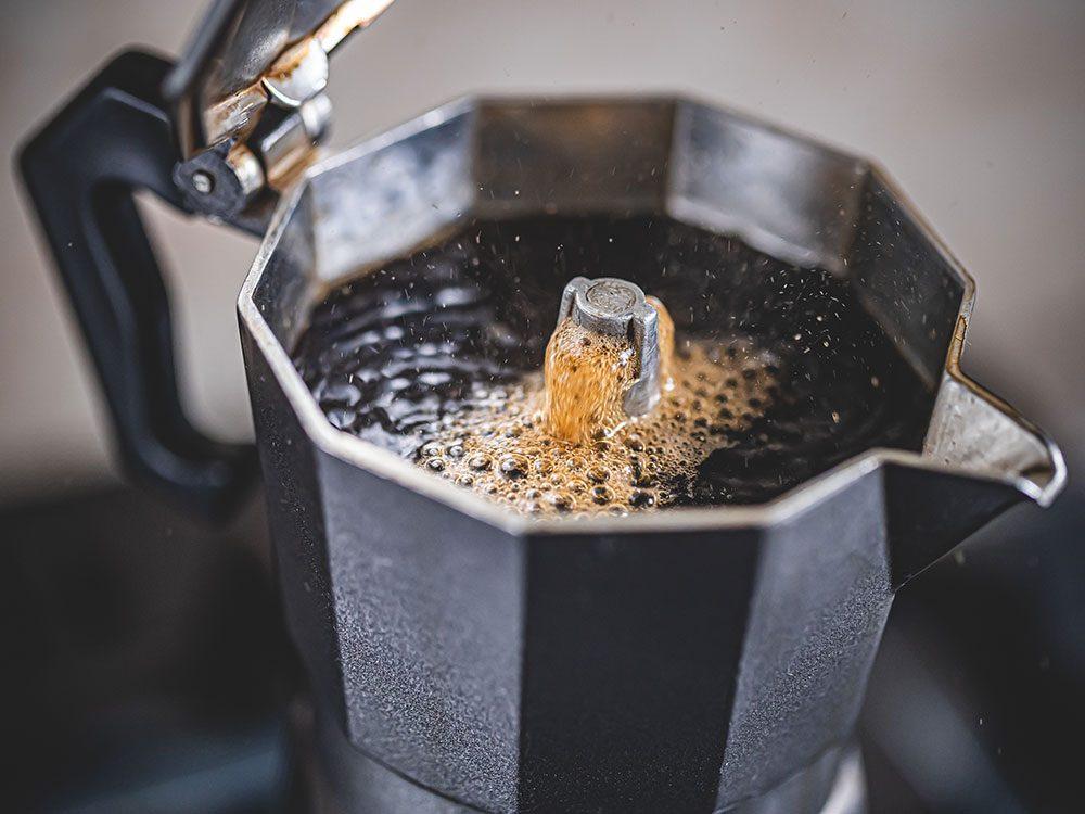 Types de café: le moka.