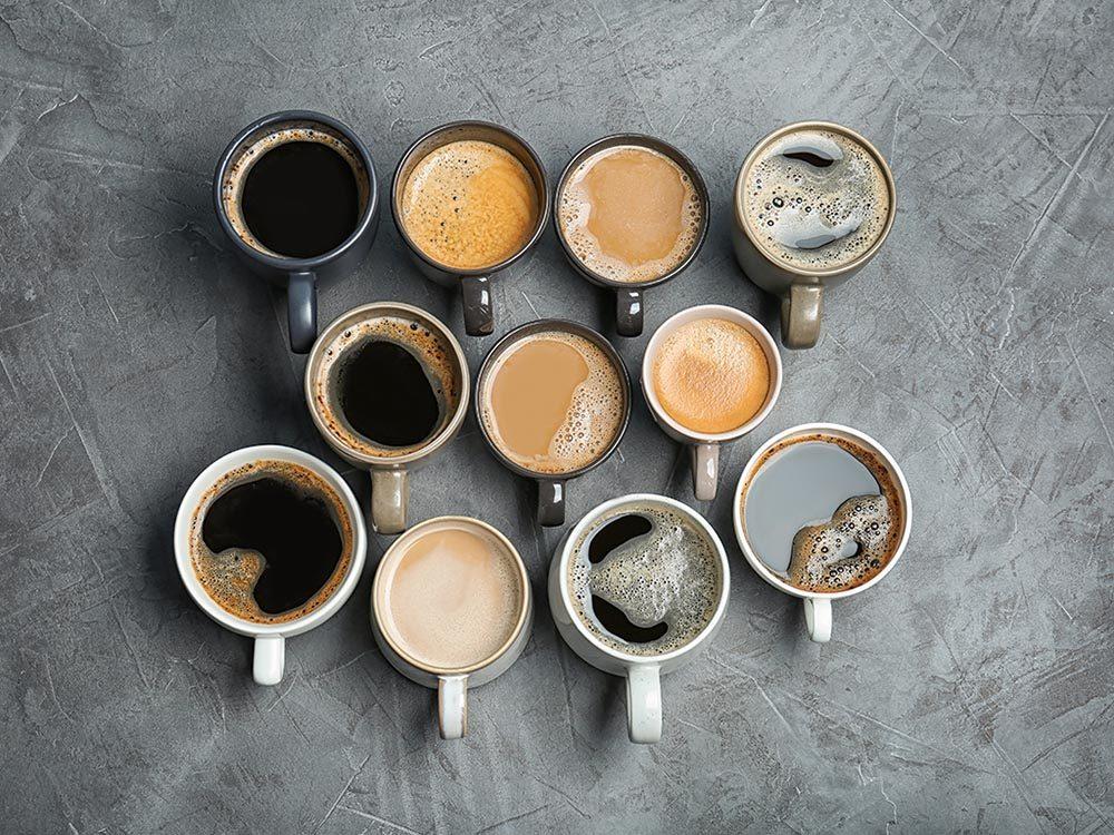 Il existe plusieurs types de cafés, pour satisfaire les goût de chacun.