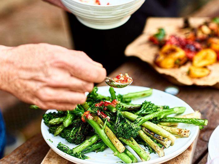 La viande rouge apporte de l'acidité et influence le PH.