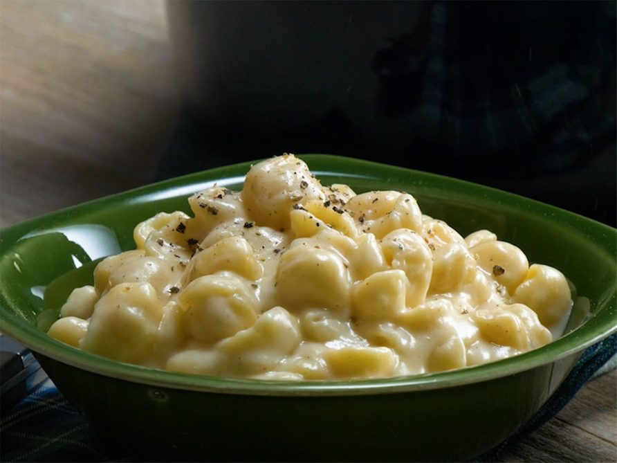 Recette: Mac and Cheese au cheddar,
