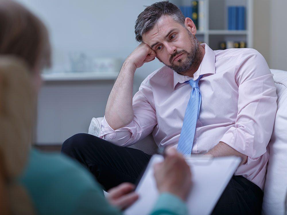 Les bienfaits de la thérapie contre un comportement autodestructeur.