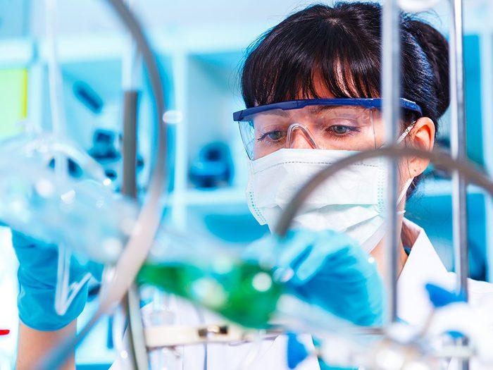 Bonne nouvelle: une technologie rapide de synthèse des protéines.