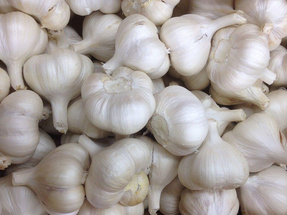 Conservation des aliments: mettez l'ail à température ambiante.