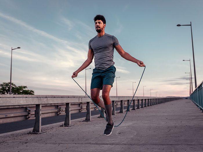 La corde à sauter est un exercice sous-estimé.